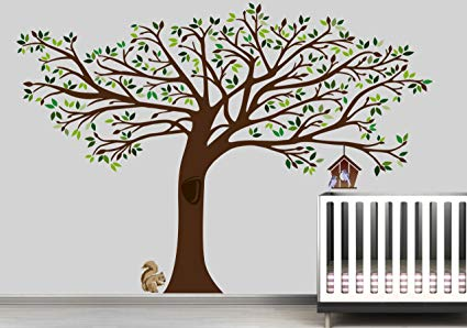 Digiflare Graphics 7.5 Ft. Tall X 10 Ft. Wide NEW Large Tree Wall Decal Deco Art Sticker Mural