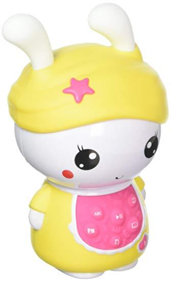 Alilo Sweet Bunny - Kids Best Friend Day and Night, Yellow