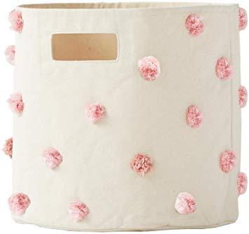 Pehr Designs Pom Pom Bin, Pink
