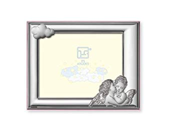 Silver Touch USA Sterling Silver Picture Frame, Angel, 5