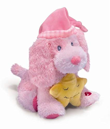 Russ Berrie Lullaby Puppy Baby Pink