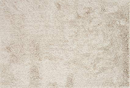 Loloi Rugs, Kendal Shags Collection - Beige Area Rug, 5' x 7'6