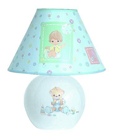 Precious Moments Ceramic Nursery Lamp
