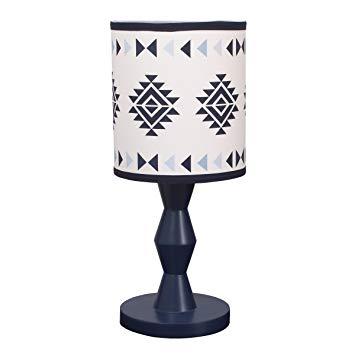Carter's Carter's - Be Brave - Lamp & Shade, Navy, Light Blue, White