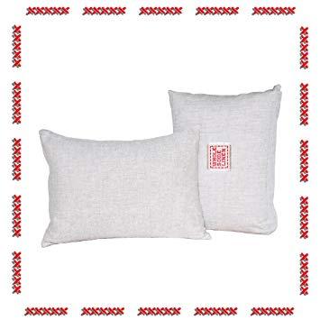 Toddler Pillow & Organic Travel Pillowcase 13x18 Natural Baby Toddler Bedding Gift Set by...