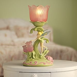 Disney Princess Tinkerbell Fairies Sculpted Lamp