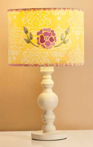 Dena Bali Blossom Lamp Base and Shade (Discontinued by Manufacturer)