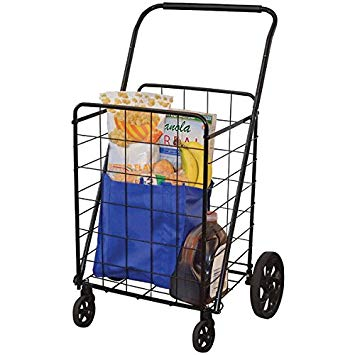 HELPING HAND FQ39720 4-Wheel Super-Deluxe Swiveler Cart Home, garden & living