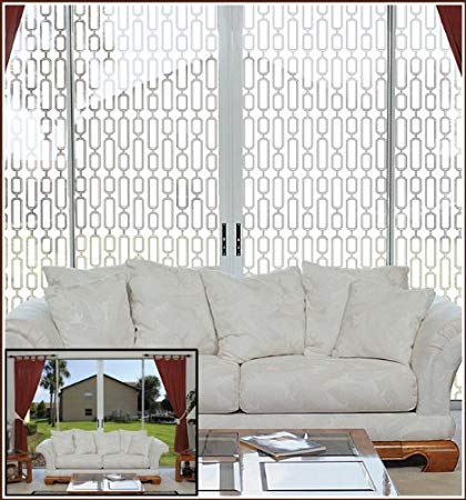 Avalon Etched Glass Semi-Private Window Film (48