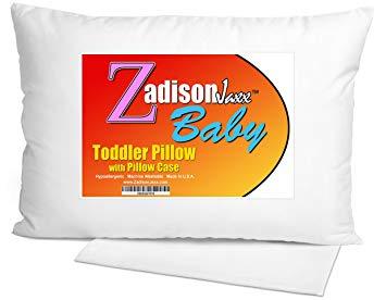 Zadisonjaxx Toddler Pillow With Pillowcase 13x18