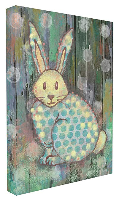 The Kids Room by Stupell Distressed Woodland Rabbit Wall Plaque Art, 30 x 40