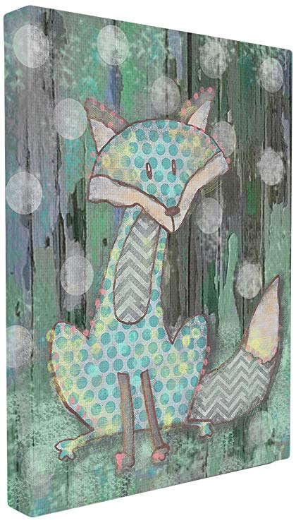The Kids Room by Stupell Distressed Woodland Fox Wall Plaque, 30 x 40