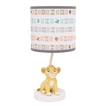Disney Baby Lion King Cirle of Life Lamp Base and Shade